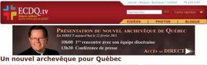 Archevêque pour Québec