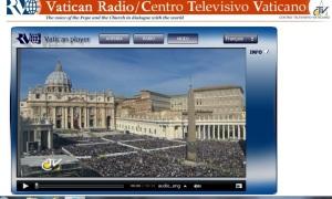 Consécration du monde par le Pape
